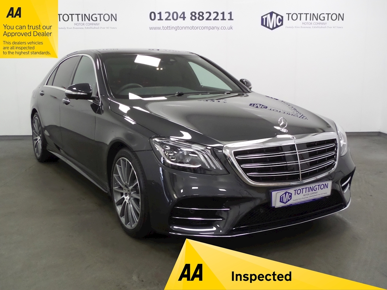 Mercedes-Benz S Class S 350 D L Amg Line Executive Premium Plu Saloon 2.9 Automatic Diesel