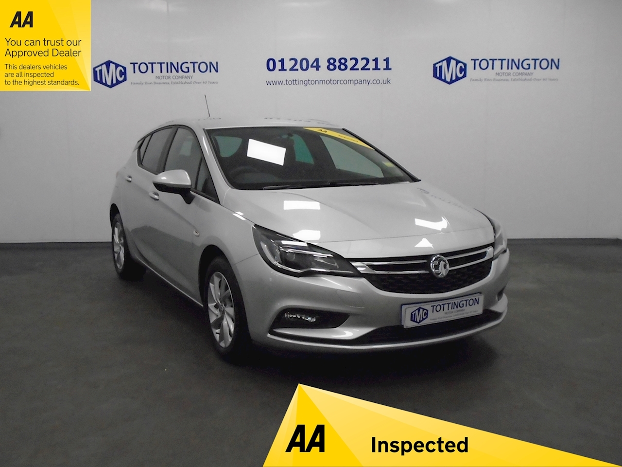 Vauxhall Astra Design Hatchback 1.4 Manual Petrol