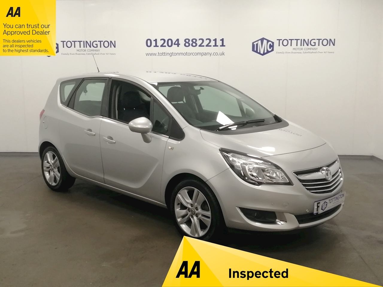 Vauxhall Meriva Tech Line Mpv 1.4 Manual Petrol