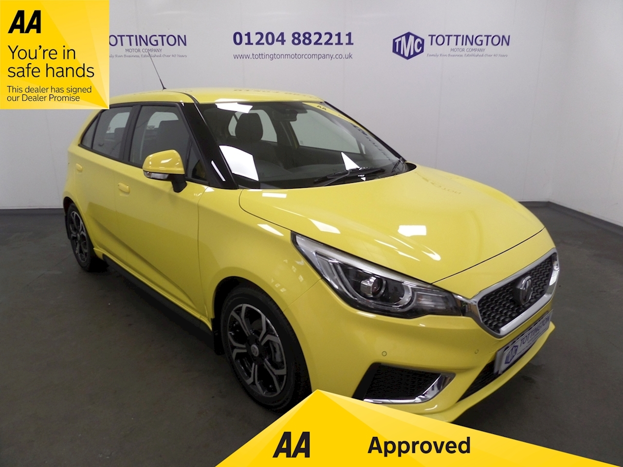 MG MG3 Exclusive 1.5 5dr Hatchback Manual Petrol