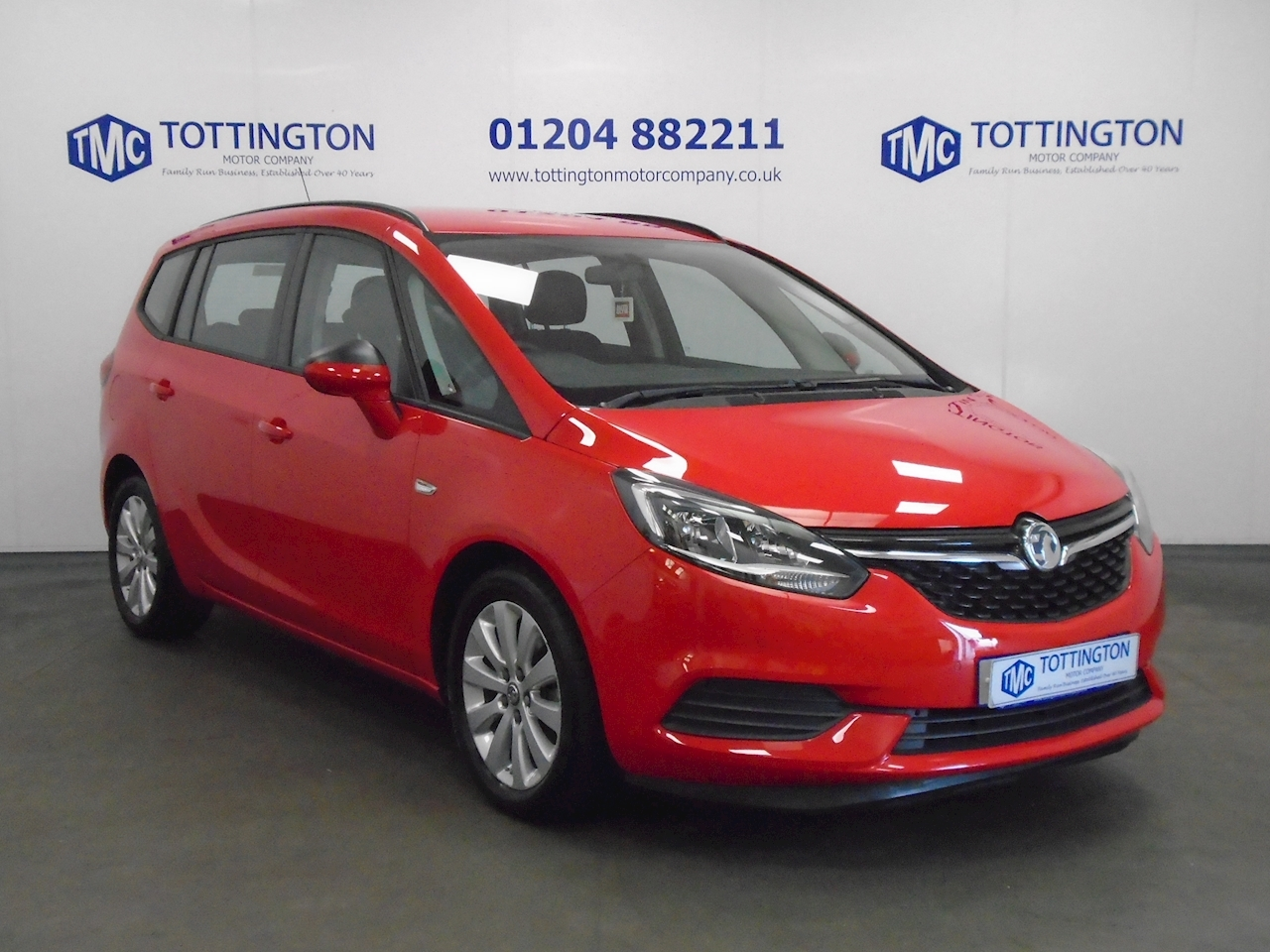 Vauxhall Zafira Tourer Design 1.4 5dr Tourer Manual Petrol