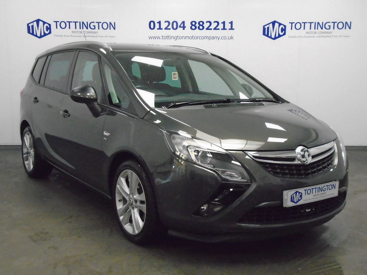 Vauxhall Zafira Tourer Sri  (7 Seater) Mpv 1.4 Manual Petrol