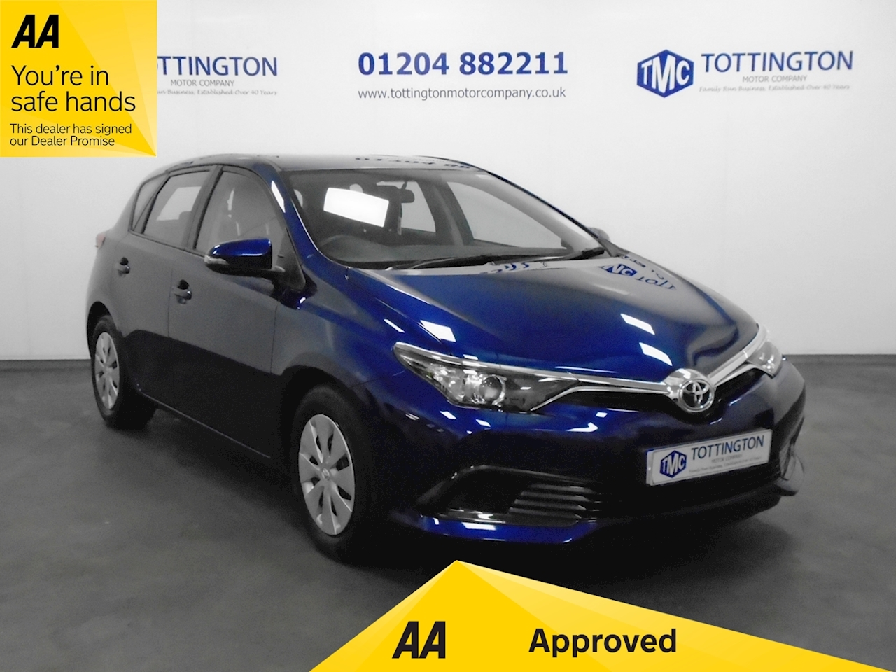 Toyota Auris Active 1.3 5dr Hatchback Manual Petrol
