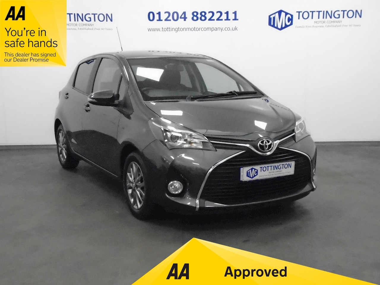 Toyota Yaris Icon 1.3 5dr Hatchback Manual Petrol