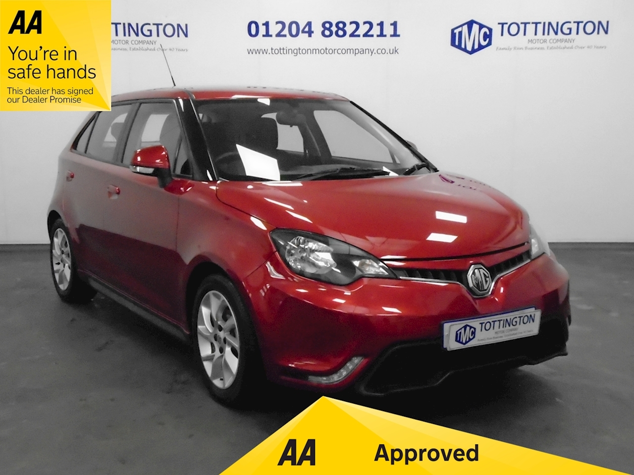 MG MG3 3Form Sport Hatchback 1.5 Manual Petrol