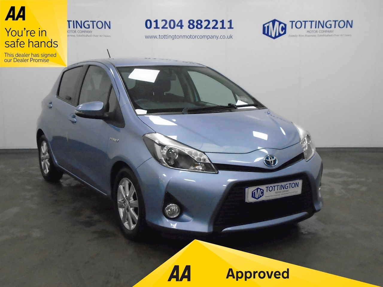 Toyota Yaris T4 (Automatic) 1.5 5dr Hatchback Cvt Petrol/Electric
