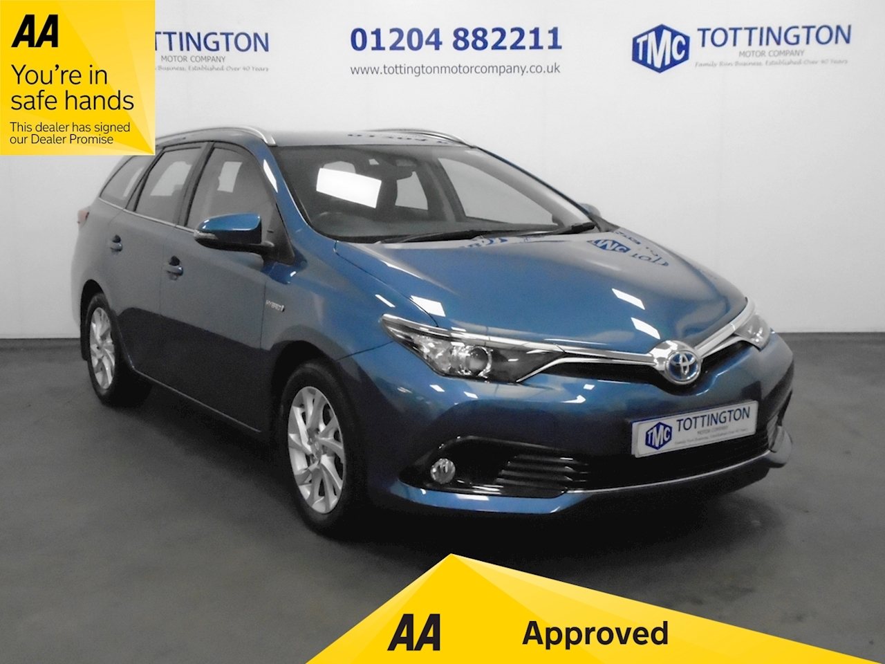 Toyota Auris Icon 1.8 5dr Touring Sports CVT Petrol Hybrid