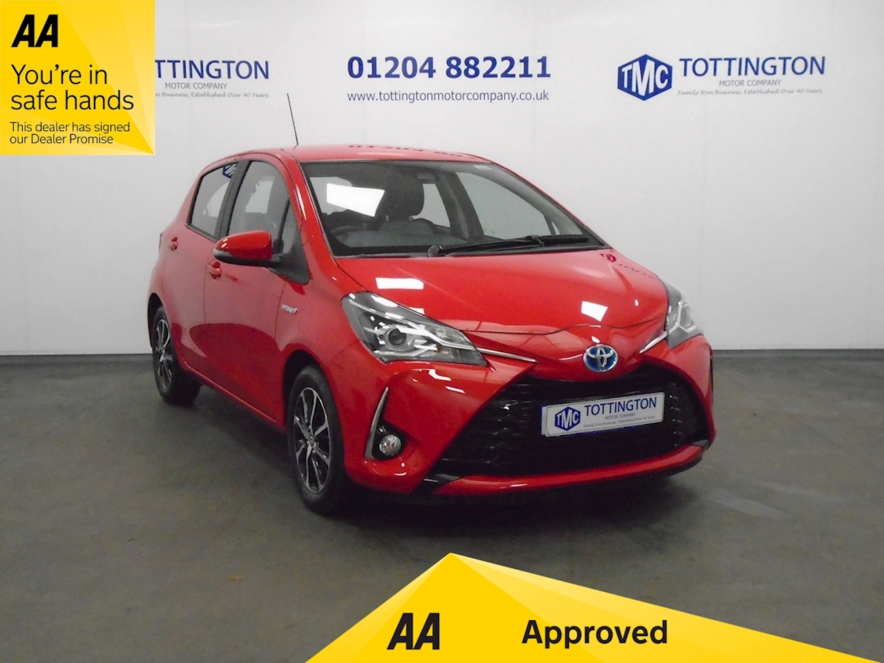 Toyota Yaris Icon Tech (Automatic/Hybrid) 1.5 5dr Hatchback Automatic Petrol Hybrid
