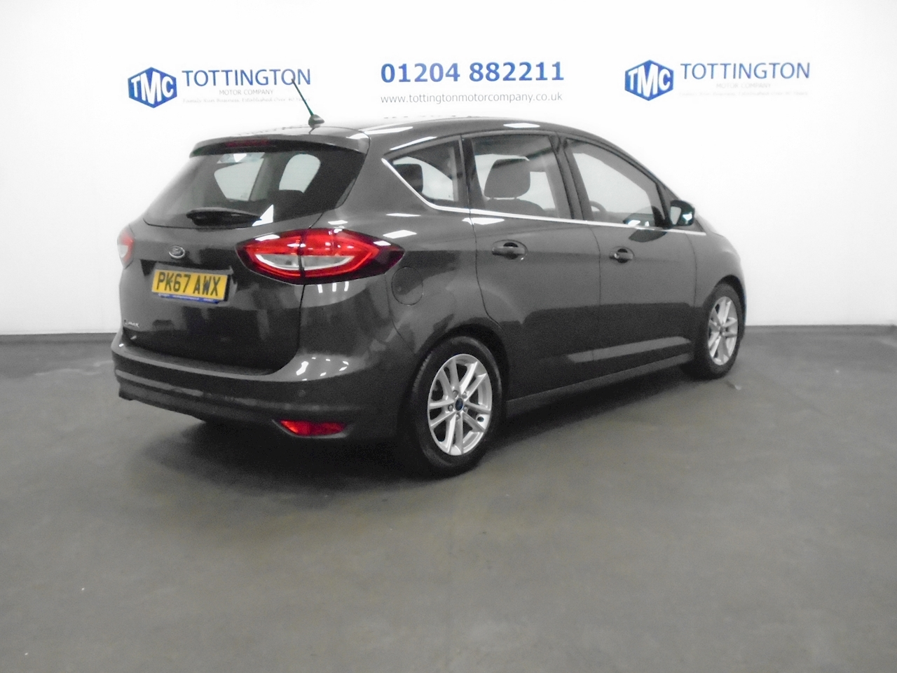 Ford C-Max Zetec 1.6 5dr MPV Manual Petrol