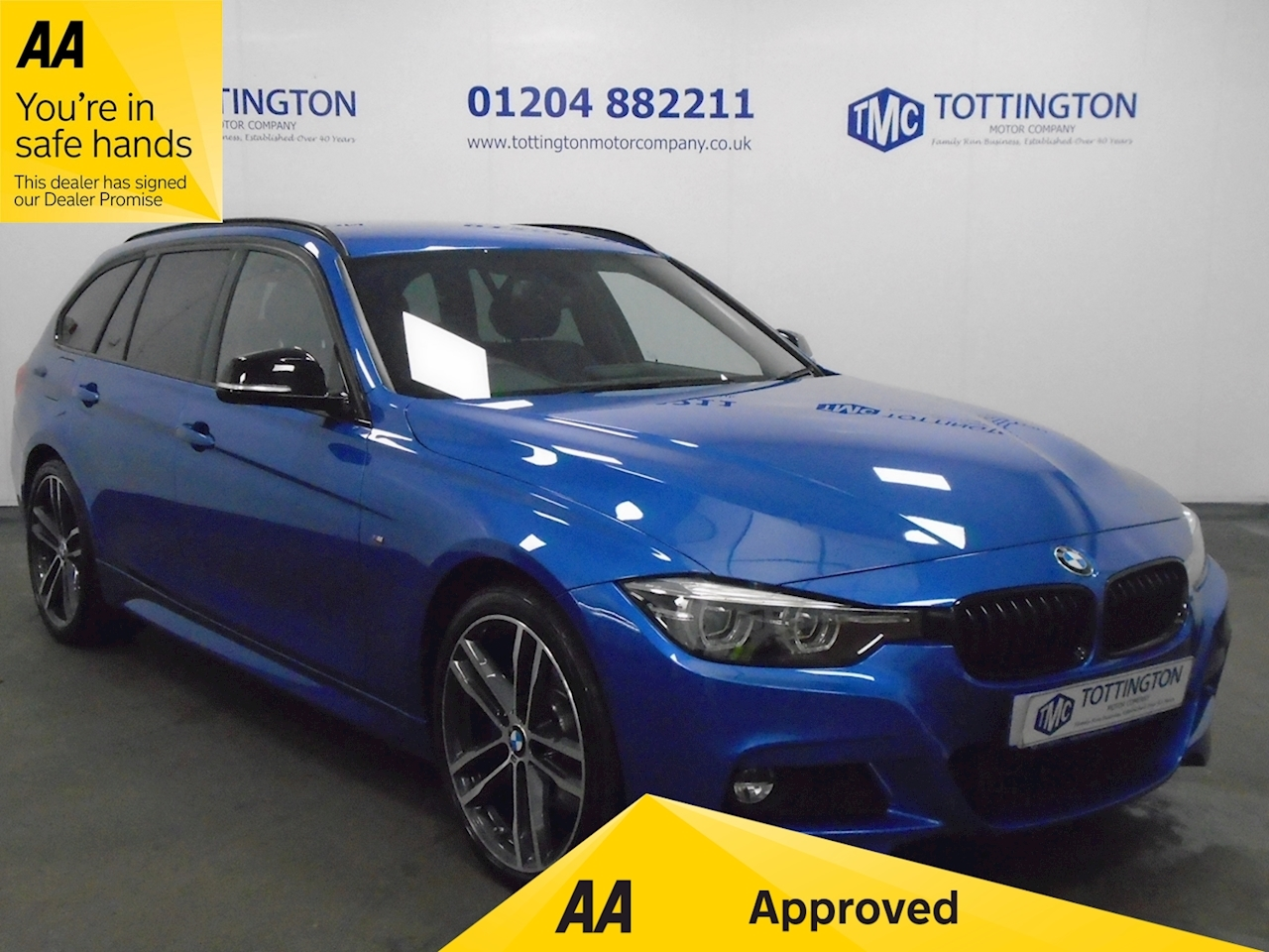BMW 2.0 320d M Sport Shadow Edition Touring 5dr Diesel Auto xDrive (s/s) (190 ps)