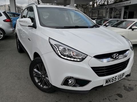 Hyundai Ix35 Gdi Se Blue Drive Estate 1.6 Manual Petrol