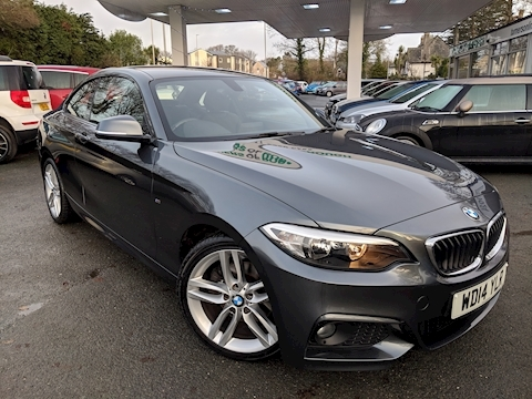 Bmw 2 Series 220I M Sport Coupe 2.0 Manual Petrol