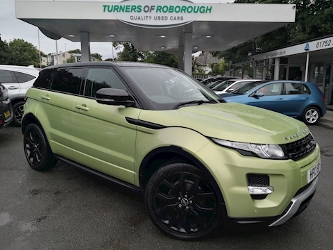 Land Rover Range Rover Evoque Sd4 Dynamic Lux 2.2 5dr Estate Automatic Diesel
