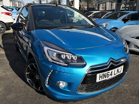 Citroen Ds3 Bluehdi Dsport Convertible 1.6 Manual Diesel