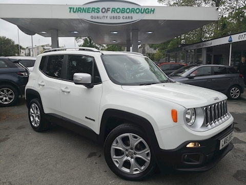 Jeep Renegade Limited Estate 1.4 Manual Petrol