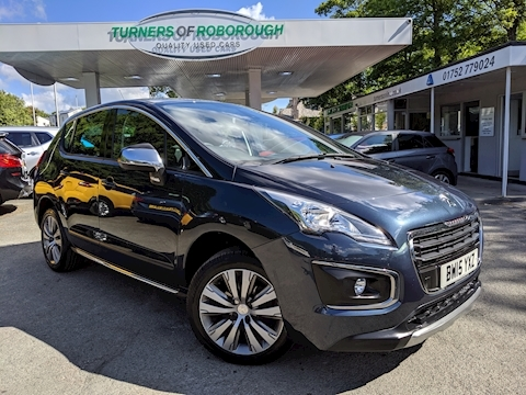 Peugeot 3008 Blue Hdi S/S Active Hatchback 1.6 Manual Diesel