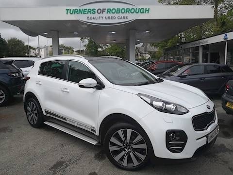 Kia Sportage Crdi First Edition 2.0 5dr Estate Automatic Diesel