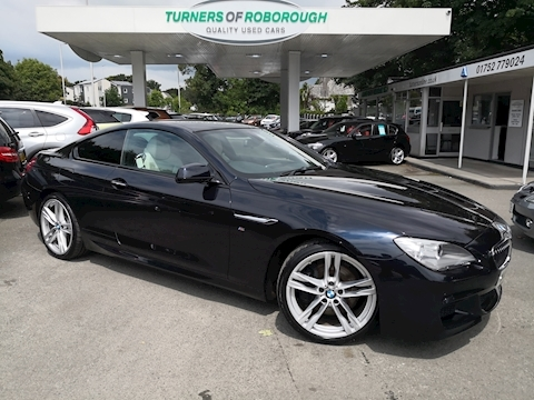 Bmw 6 Series 640D M Sport Coupe 3.0 Automatic Diesel