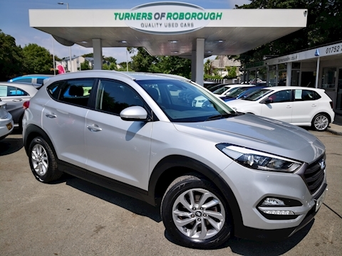 Hyundai Tucson Crdi Se Nav Blue Drive Estate 1.7 Manual Diesel