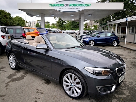 Bmw 2 Series 218I Luxury Convertible 1.5 Manual Petrol