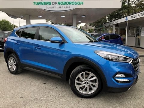 Hyundai Tucson Crdi Premium Blue Drive Estate 1.7 Manual Diesel