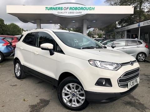 Ford Ecosport Zetec Hatchback 1.5 Manual Petrol
