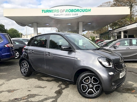 Smart Forfour Night Sky Prime Premium Plus Hatchback 1.0 Manual Petrol