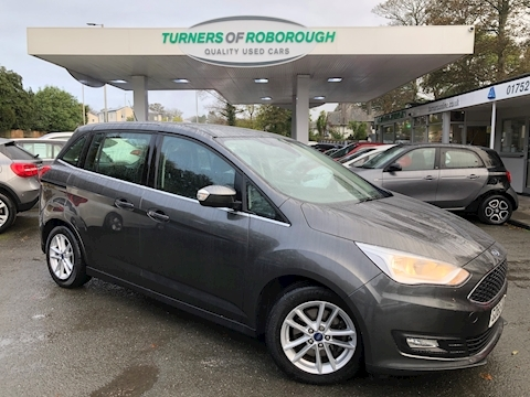 Ford C-Max Grand Zetec Tdci Mpv 1.5 Manual Diesel