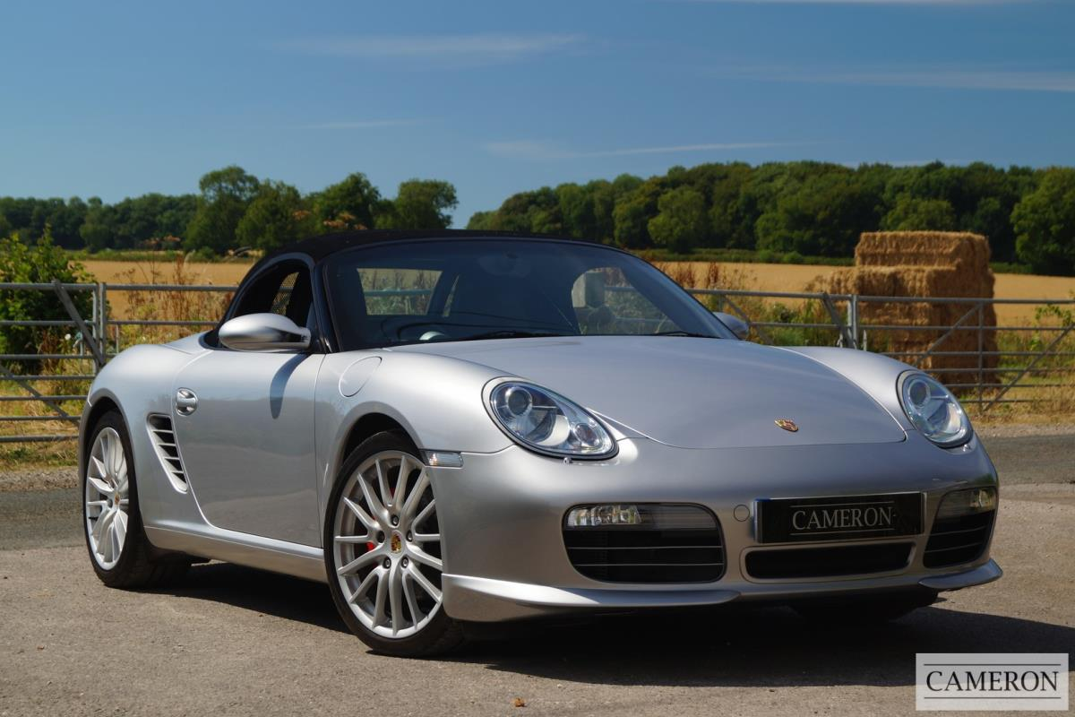 used porsche boxster rs 60 spyder 2008 cameron sports. Black Bedroom Furniture Sets. Home Design Ideas