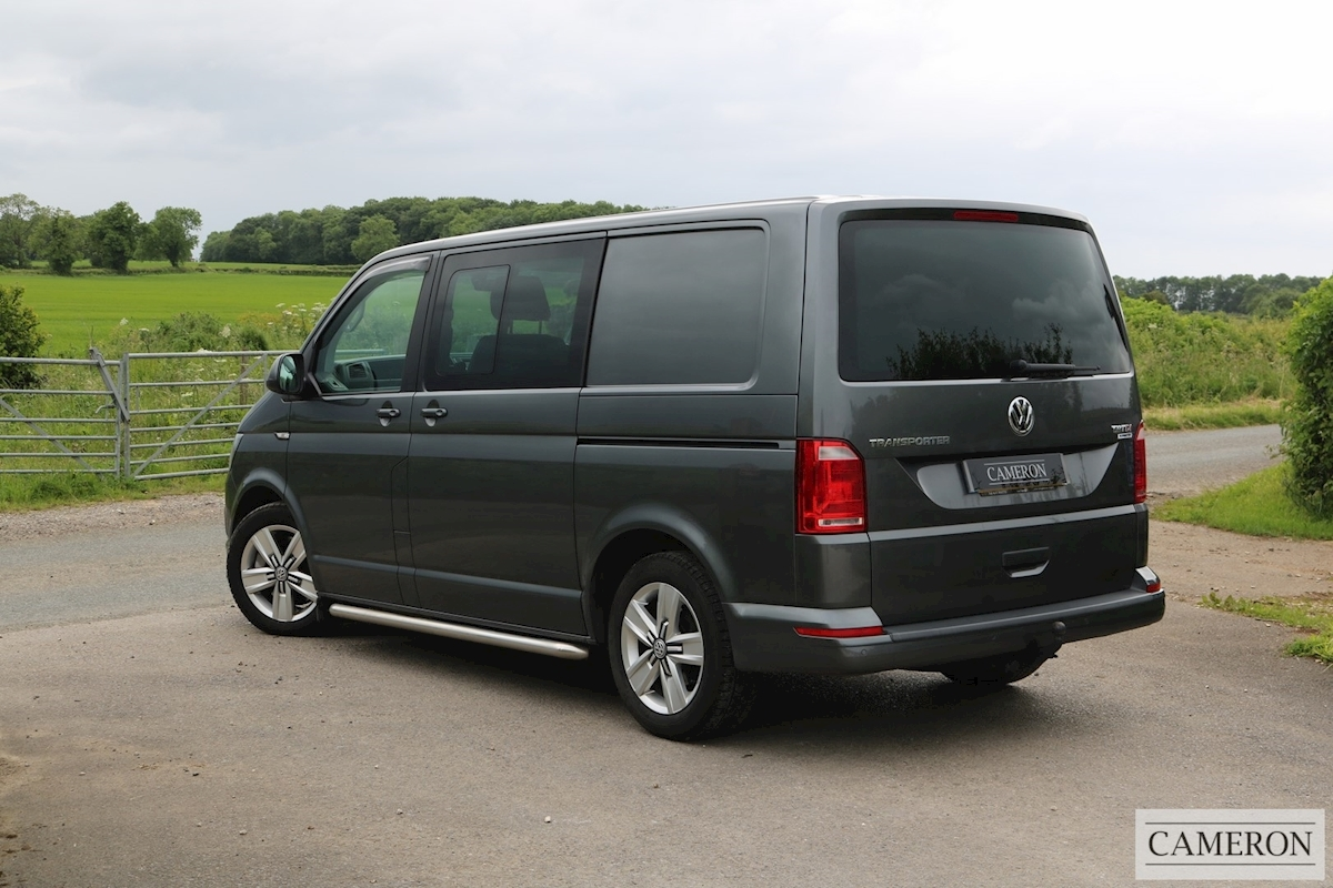 used volkswagen t6 transporter t32 tdi kombi highline bmt. Black Bedroom Furniture Sets. Home Design Ideas