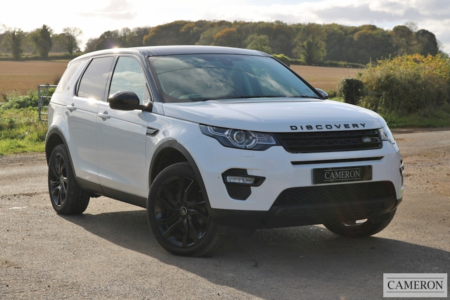 Land Rover Discovery Sport Td4 Hse Black