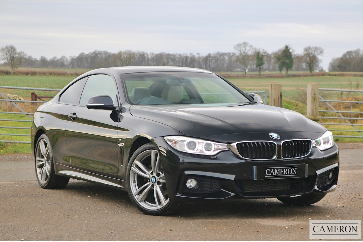 Used 2016 BMW 4 Series 420D Xdrive M Sport Auto Coupe 2.0 ...