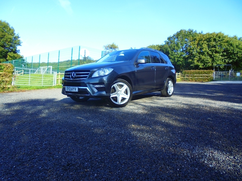 Mercedes M-Class Ml350 Bluetec Amg Sport