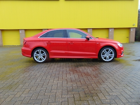 A3 Tdi S Line Saloon 2.0 Manual Diesel