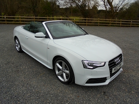 A5 Tdi S Line Convertible 2.0 Manual Diesel