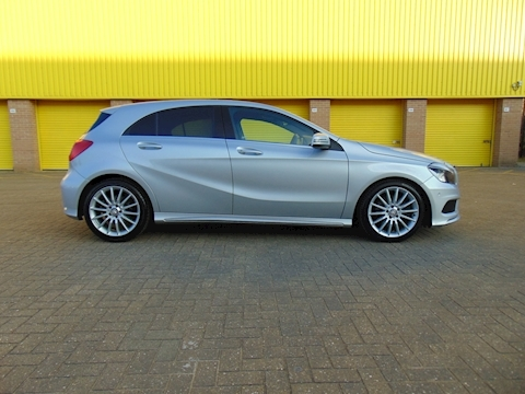 A-Class A220 Cdi Blueefficiency Amg Sport Hatchback 2.1 Automatic Diesel