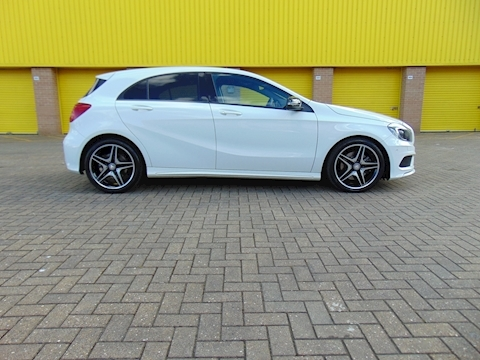 A-Class A250 Blueefficiency Amg Sport Hatchback 2.0 Automatic Petrol