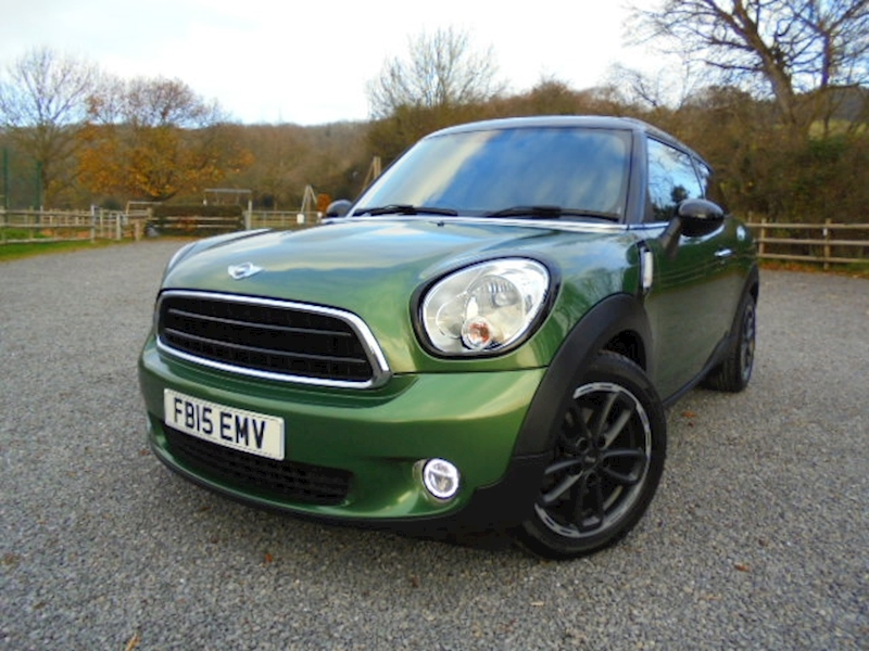 Paceman Cooper Paceman Cooper D Coupe 1.6 Manual Diesel
