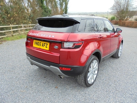 Range Rover Evoque Ed4 Se Tech Estate 2.0 Manual Diesel