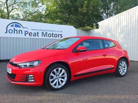Volkswagen Scirocco Tsi Bluemotion Technology Coupe 1.4 Manual Petrol