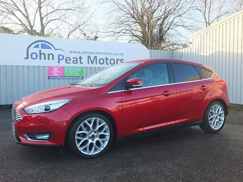 Ford Focus Titanium X Tdci Hatchback 1.5 Manual Diesel
