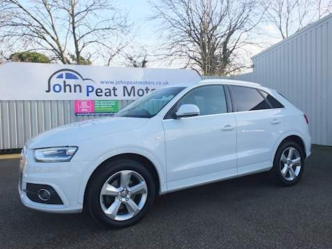Audi Q3 Tdi Quattro S Line Estate 2.0 Manual Diesel