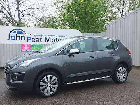 Peugeot 3008 Hdi Active Hatchback 1.6 Manual Diesel