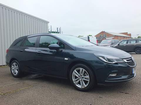 Vauxhall Astra Design Estate 1.4 Manual Petrol