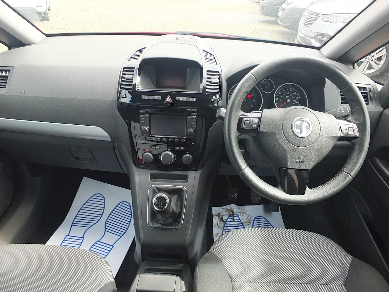 Zafira Design Nav Mpv 1.6 Manual Petrol