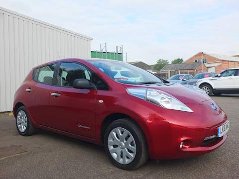 Nissan Leaf Visia Fully electric Hatchback 0.0 Automatic Electric