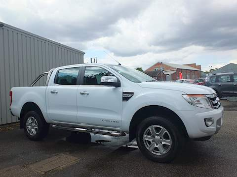 Ford Ranger Limited 4X4 Dcb Tdci No VAT Pick-Up 2.2 Automatic Diesel