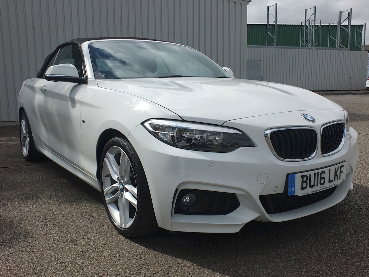 2 Series 218D M Sport Convertible 2.0 Manual Diesel