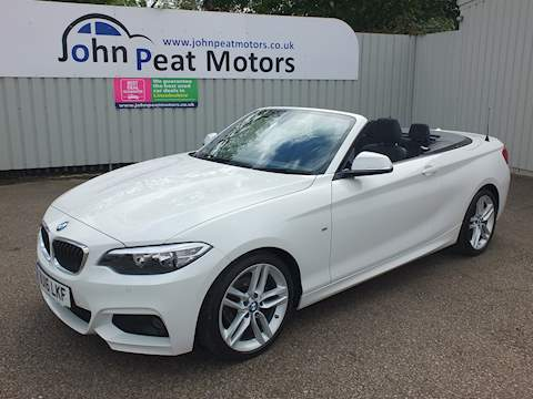 Bmw 2 Series 218D M Sport Convertible 2.0 Manual Diesel