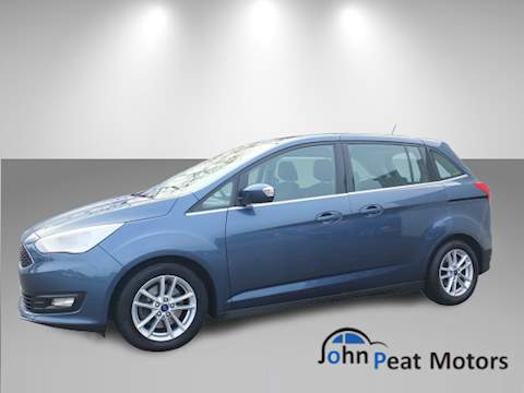 Ford C-Max Grand Zetec 7 Seater Mpv 1.0 Manual Petrol